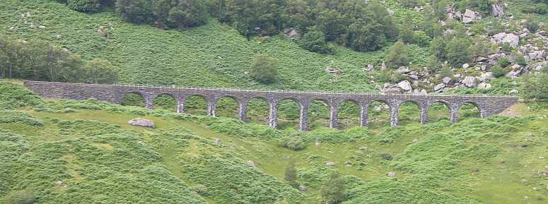 Kendrum Viaduct viaduct at Glen Ogle