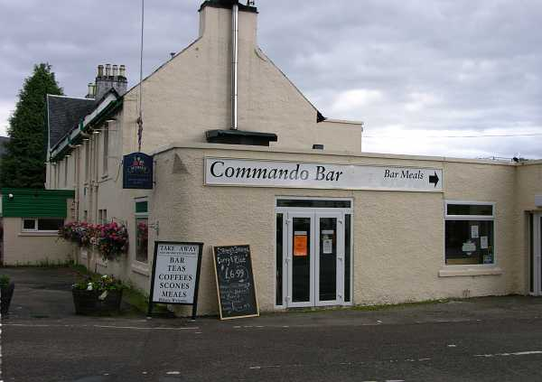 Commando Bar near Spean Bridge