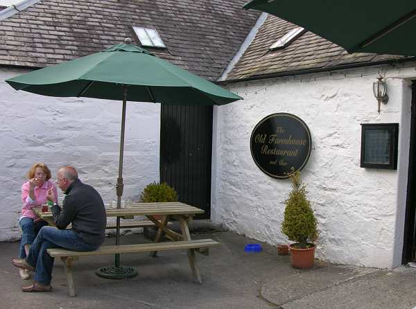 The Old Farmhouse Restaurant and Pub in Pitlochry