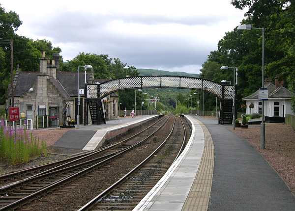 Pitlochry train station