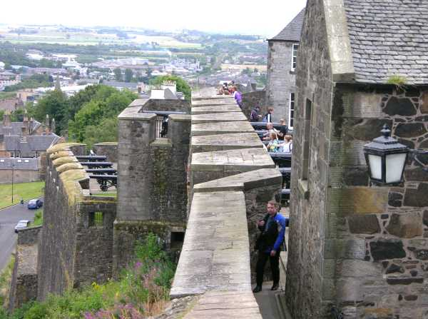 Stirling Castle wall