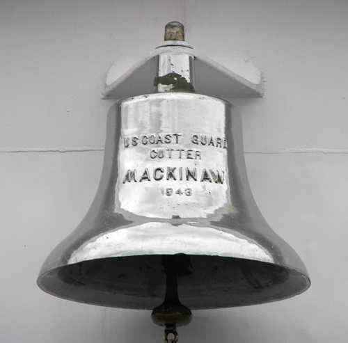United States Coast Guard Cutter Mackinaw bell