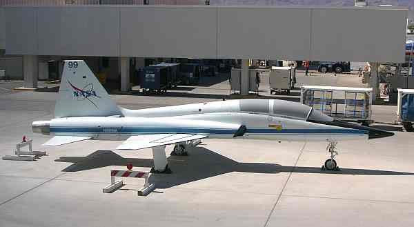 Larry LaRose NASA jet aircraft