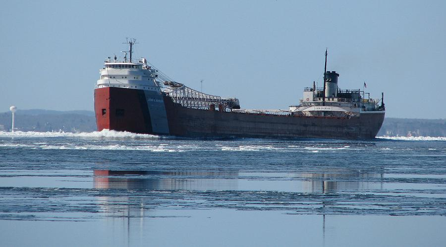 John G. Munson Great Lakes freighter