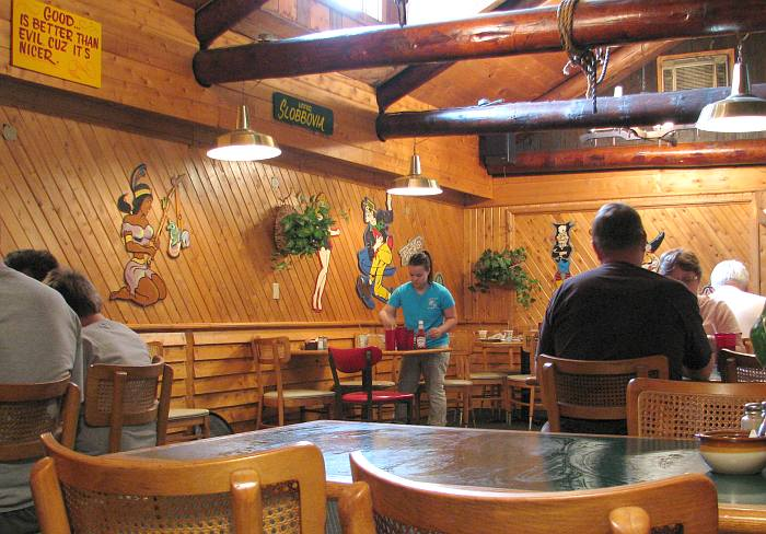 Dogpatch Restaurant - Munising, Michigan