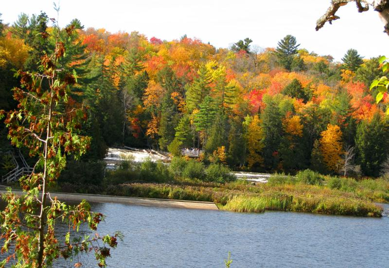 Tahquamenon Falls viewing platform
