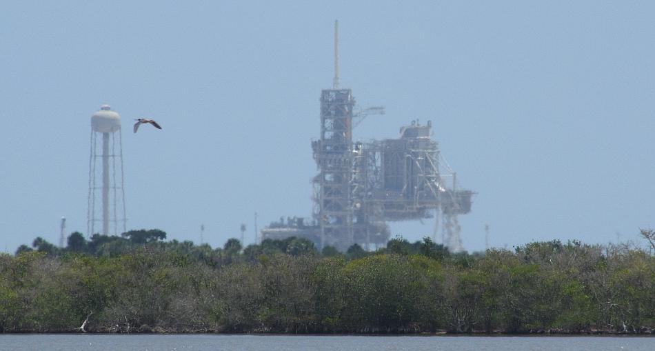 Shuttlee Atlantis on Launch Complex 39 Pad A