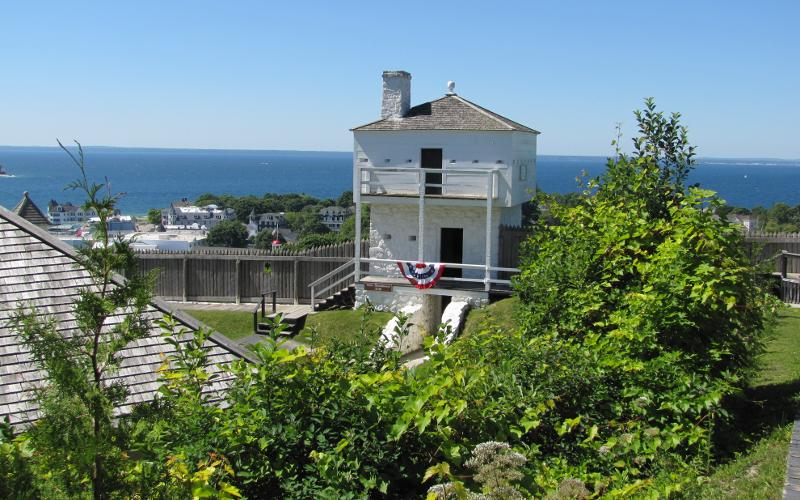 West Blockhouse of Fort Mackinac