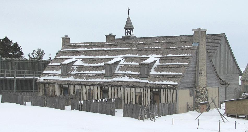Row house at Colonial Michilimackinac