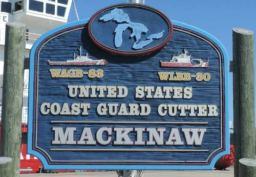 Touring United States Coast Guard Cutter Mackinaw WLBB 30