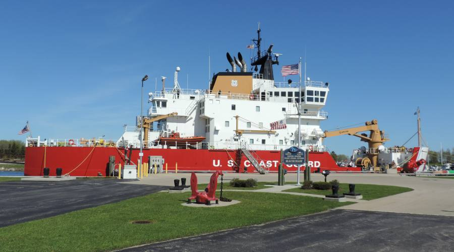 United States Coast Guard Cutter Mackinaw WLBB 30