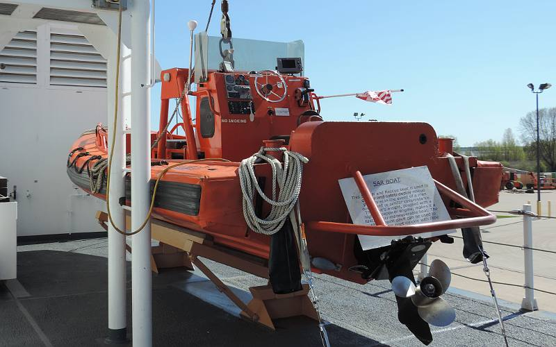 Mackinaw Coast Guard SAR boat