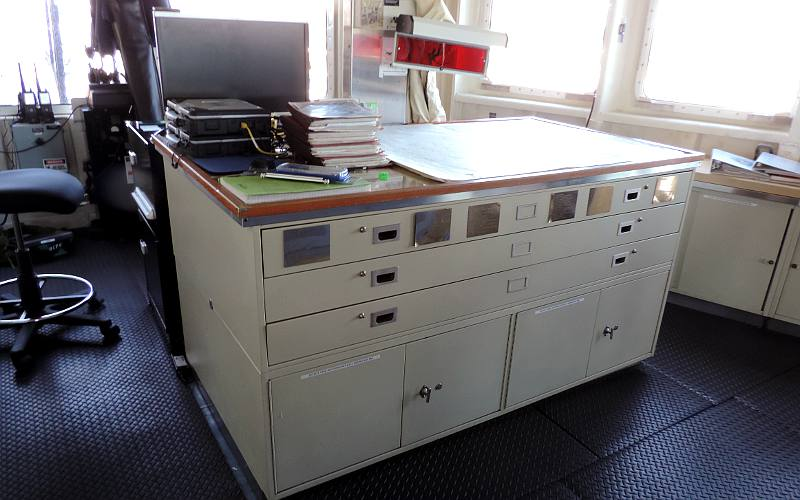 USCGC Mackinaw Chart Table