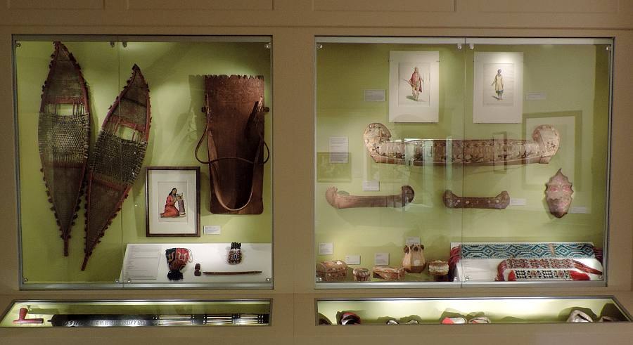 Native American crafts at Mackinac Art Museum