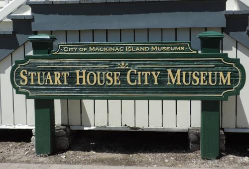Stuart House City Museum - Mackinac Island, Michigan