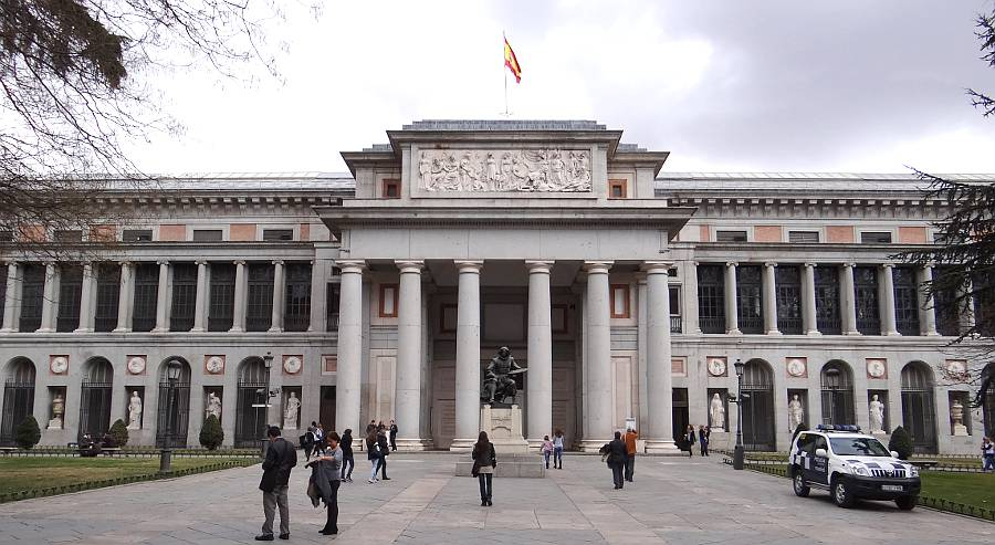 Museo nacional del prado madrid spain for Calle del prado 9 madrid espana