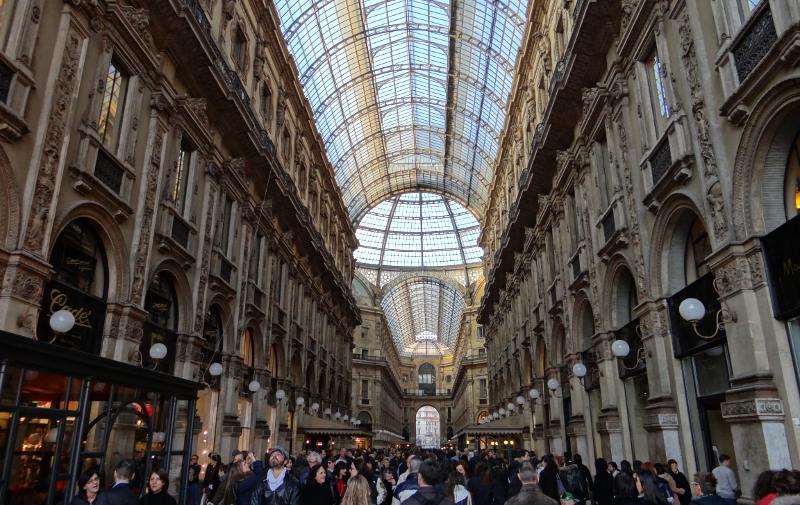Exploring The Galleria And Sforza Castle Milan Italy