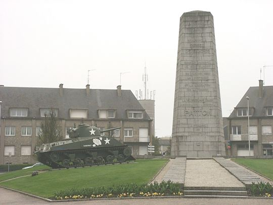 Patton monument Avranches