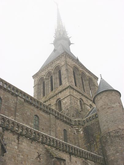 Abbey at Mont St. Michel