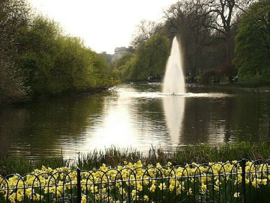 St. James Park fountain