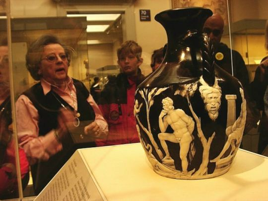 Portland Vase in the British Museum
