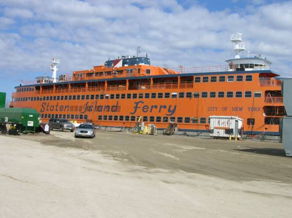 Staten Island Ferry nearing completion at Marinette Marine's shipyard